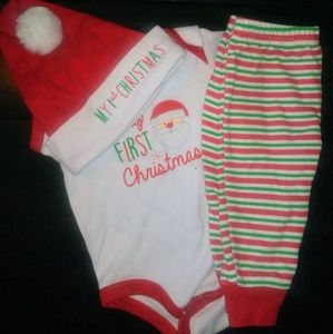 Other - My first christmas onesie set